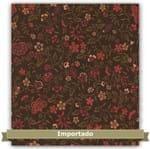 Tecido Estampado para Patchwork - Floral Let Caqui Cor 03 (0,50x1,10)