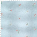 Tecido Estampado para Patchwork - Floral Malva Cor 02 (0,50x1,40)
