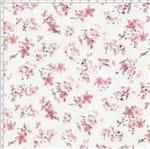 Tecido Estampado para Patchwork - Floral Pink Cor 3 (0,50x1,40)