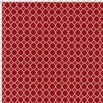 Tecido Estampado para Patchwork - Floral Veneza Vermelho e Bordô Cor 1959 (0,50x1,40)
