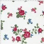 Tecido Estampado para Patchwork - Fluorita Rosa Cor 1 (0,50x1,40)
