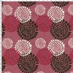 Tecido Estampado para Patchwork - Fogos Fundo Rose T04704 (0,50x1,40)