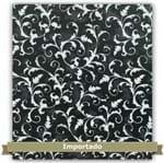 Tecido Estampado para Patchwork - Galos Ornamentais Floral (0,50x1,10)