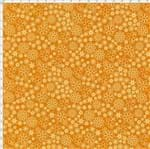 Tecido Estampado para Patchwork - Garden Mini Floral Cor 02 Laranja (0,50x1,40)