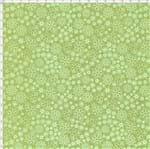 Tecido Estampado para Patchwork - Garden Mini Floral Cor 04 Verde (0,50x1,40)
