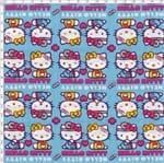 Tecido Estampado para Patchwork - Hello Kitty Medical (0,50x1,40)