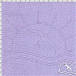 Tecido Estampado para Patchwork - Linho Lilás (0,50x1,40)