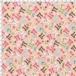 Tecido Estampado para Patchwork - Little Girl Cor 2135 (0,50x1,40)