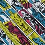 Tecido Estampado para Patchwork - Marvel: Vingadores os Heróis (0,50x1,50)