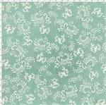 Tecido Estampado para Patchwork - Millyta Four Seasons Arabesco Fundo Verde (0,50x1,40)