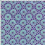 Tecido Estampado para Patchwork - Modern Oriental: Textura Verde (0,50x1,40)