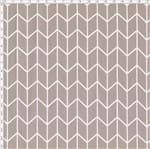 Tecido Estampado para Patchwork - Monochrome Chevron Cinza (0,50x1,40)
