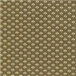 Tecido Estampado para Patchwork - Mosquitinho Tabaco T03907 (0,50x1,40)