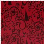 Tecido Estampado para Patchwork - Natal 338508 Composê Pinheiros Vemelhos Cor 400 (0,50x1,40)