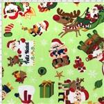 Tecido Estampado para Patchwork - Natal 338508 Natal Divertido Cor 240 (0,50x1,40)