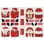 Tecido Estampado para Patchwork - Natal Casal Noel 2 Cor 01 (0,60x1,40)