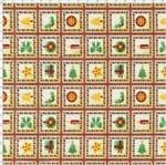 Tecido Estampado para Patchwork - Natal Encantado Cor 1838 (0,50x1,40)