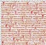 Tecido Estampado para Patchwork - Natal Frases de Natal (0,50x1,40)
