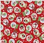 Tecido Estampado para Patchwork - Natal Happy Day Cor 1853 (0,50x1,40)