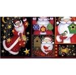 Tecido Estampado para Patchwork - Natal: Patch Noel (0,50x1,40)