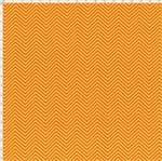 Tecido Estampado para Patchwork - Páscoa: Chevron Tom Tom Laranja (0,50x1,40)