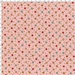 Tecido Estampado para Patchwork - Poá Colorido Rosa Cor 01 51095 (0,50x1,40)