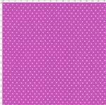 Tecido Estampado para Patchwork - Poá Fundo Lilás Médio com Branco Cor 62 (0,50x1,40)