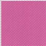 Tecido Estampado para Patchwork - Poá Pink Cor 23 (0,50x1,40)