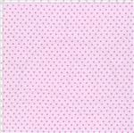 Tecido Estampado para Patchwork - Poá Rosa com Pink Cor 41 (0,50x1,40)
