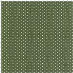 Tecido Estampado para Patchwork - Poá Verde Escuro Cor 12 (0,50x1,40)