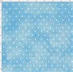 Tecido Estampado para Patchwork - Poeirinha com Poá Cor 2123 Azul Bebê (0,50x1,40)