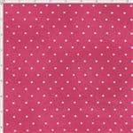 Tecido Estampado para Patchwork - Poeirinha com Poá Cor 2120 Fúcsia (0,50x1,40)