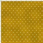 Tecido Estampado para Patchwork - Poeirinha com Poá Cor 2118 Mostarda (0,50x1,40)