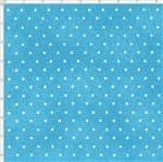 Tecido Estampado para Patchwork - Poeirinha com Poá Cor 2124 Celeste (0,50x1,40)
