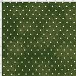 Tecido Estampado para Patchwork - Poeirinha com Poá Cor 2128 Militar (0,50x1,40)