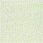 Tecido Estampado para Patchwork - PY015 Patchouly Coração Margarida Rosa Cor 01 (0,50x1,40)