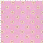 Tecido Estampado para Patchwork - PY017 Patchouly Coração Poá Rosa Cor 01 (0,50x1,40)