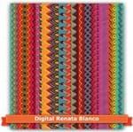 Tecido Estampado para Patchwork - Renata Blanco Coleção America Partner Cor 01 (0,50x1,40)