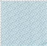 Tecido Estampado para Patchwork - Roda de Cores Cashmere Fundo Azul Claro (0,50x1,40)