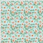 Tecido Estampado para Patchwork - Romance Cor 1803 (0,50x1,40)