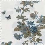 Tecido Estampado para Patchwork - Rose Garden Floral Azul Cor 11 (0,50X1,40)