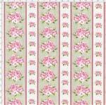 Tecido Estampado para Patchwork - Shabby Chic Listrado Shabby Areia (0,50x1,40)