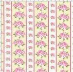 Tecido Estampado para Patchwork - Shabby Chic Listrado Shabby Manteiga (0,50x1,40)
