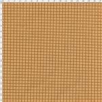 Tecido Estampado para Patchwork - Sunbonnet Xadrez Bege (0,50x1,40)