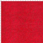Tecido Estampado para Patchwork - Text. Rosas/Arabesco Vermelho Cor 06 49001 (0,50x1,40)