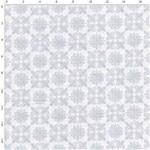 Tecido Estampado para Patchwork - Tons de Cinza 30654 Azulejo 01 (0,50X1,40)