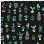 Tecido Estampado para Patchwork - Viva México Cactos Cor 02 (0,50x1,40)