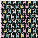 Tecido Estampado para Patchwork - Viva México Lhama Cor 01 (0,50x1,40)
