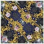 Tecido Quadrado Digital 49 X 49cm - Indiano Floral
