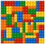 Tecido Quadrado Digital 49 X 49cm - Lego